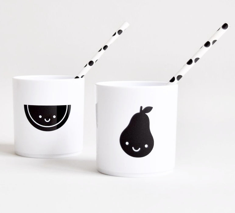 Buddy + Bear White Fruit Friends Cup Set on DLK