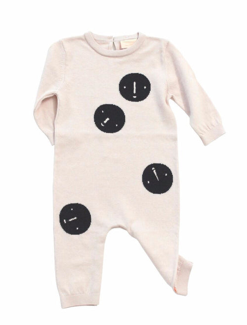 Tiny Cottons FACES KNIT ONEPIECE ON DLK