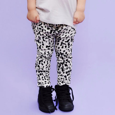 Little Man Happy Jungle Maze Leggings on DLK