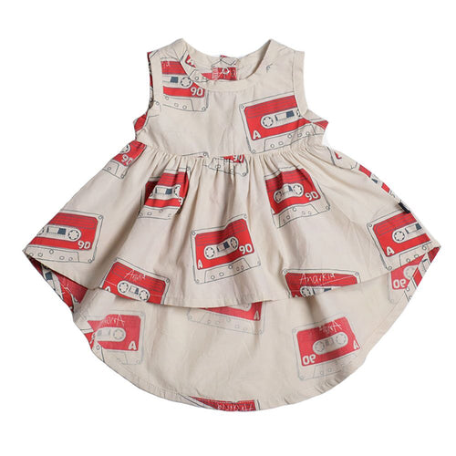 Anarkid Mix Tape Sleeveless Dress on DLK | designlifekids.com