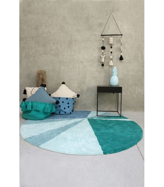 Lorena Canals Washable Geometric Rug on DLK | designlifekids.com