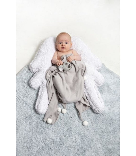 Lorena Canals Puffy Wings Rug on DLK | designlifekids.com