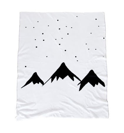 White Fox & Co. MOUNTAINS BLANKET ON DLK