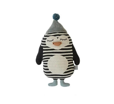 OYOY Baby Bob Penguin Cushion on Design Life Kids
