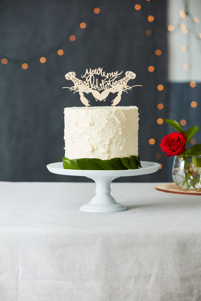 You're My Lobster Wedding Cake Topper