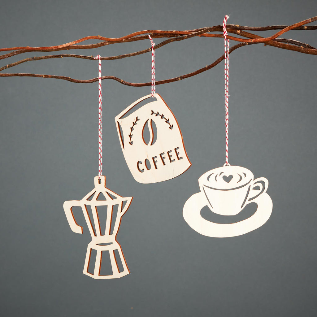 Coffee Ornaments