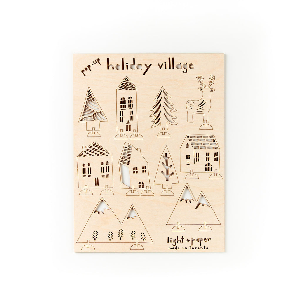 Pop-Up Holiday Village