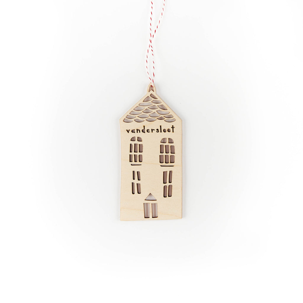Custom Tall House Ornament