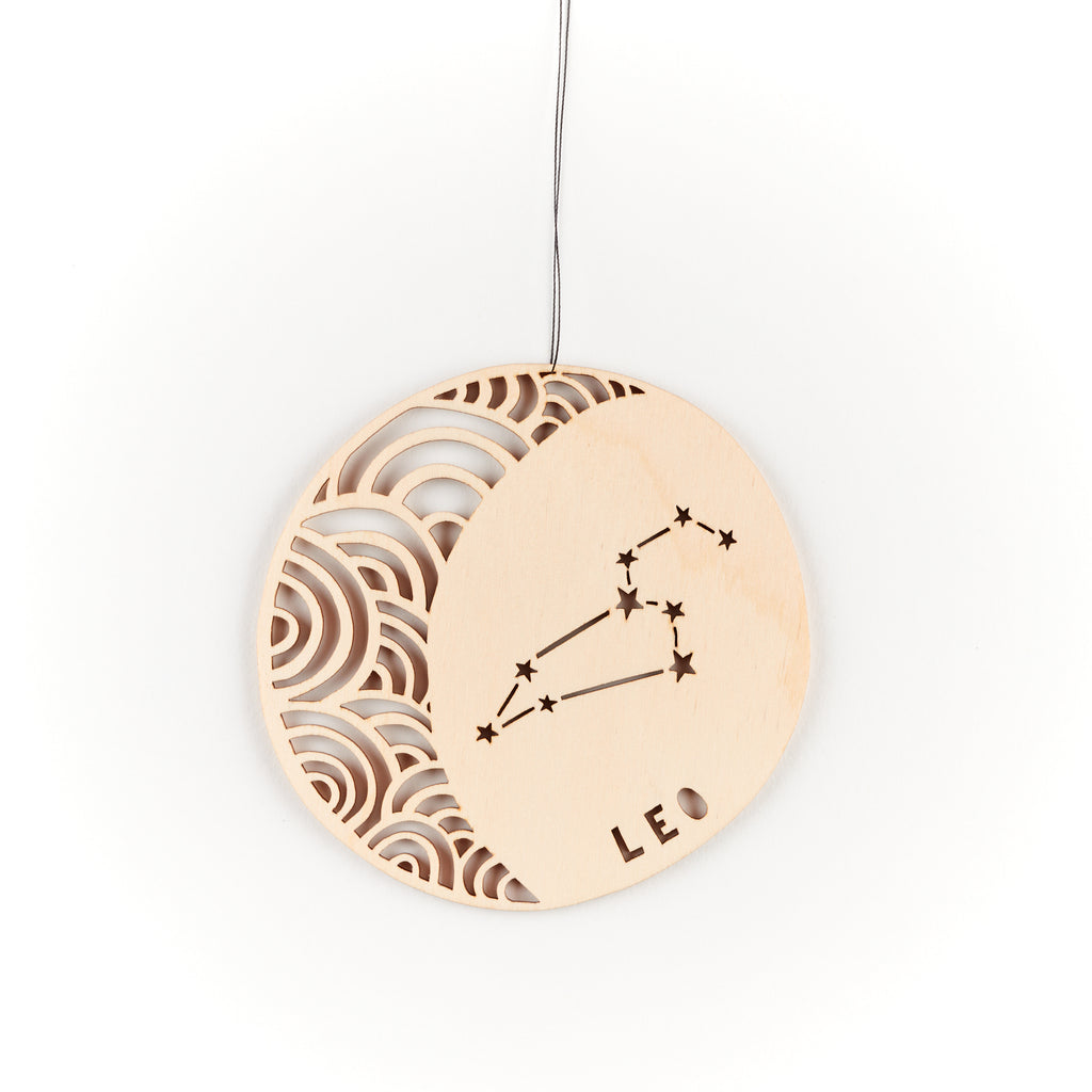 Leo - Astrology Ornament