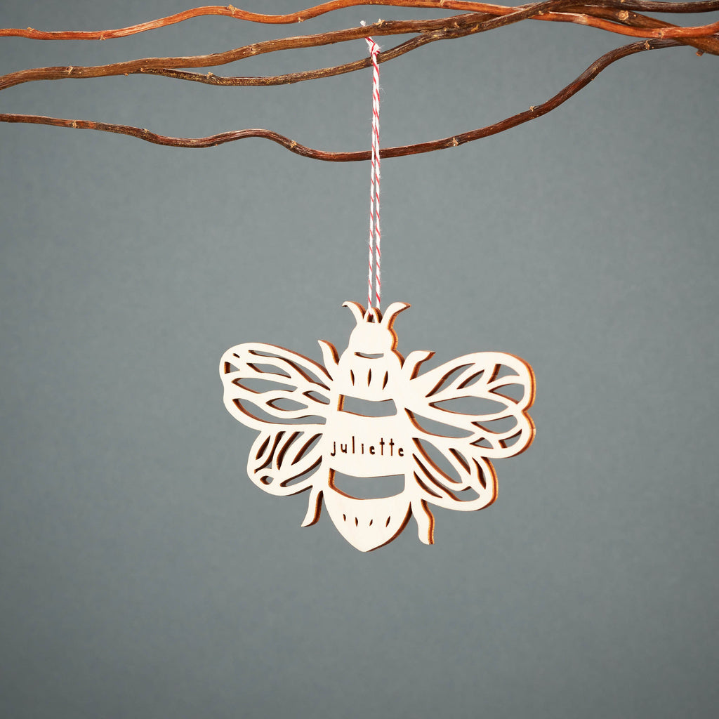 Custom Bee Ornament