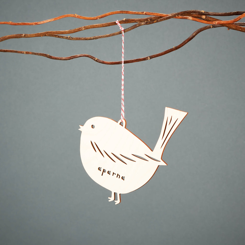 Custom Bird Ornament