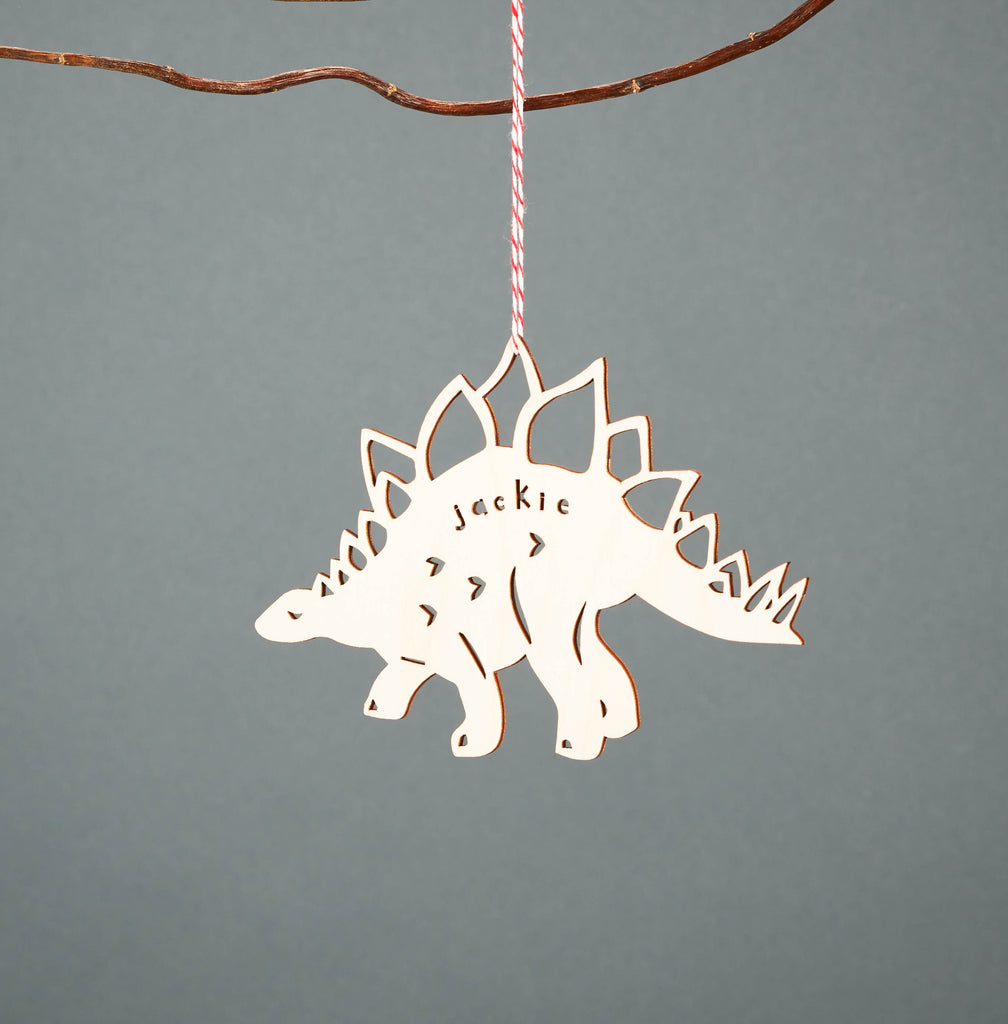 Custom Dinosaur Ornament