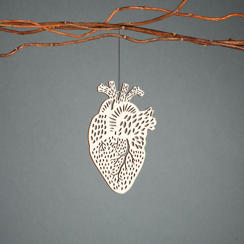 Heart Ornament Anatomy Collection