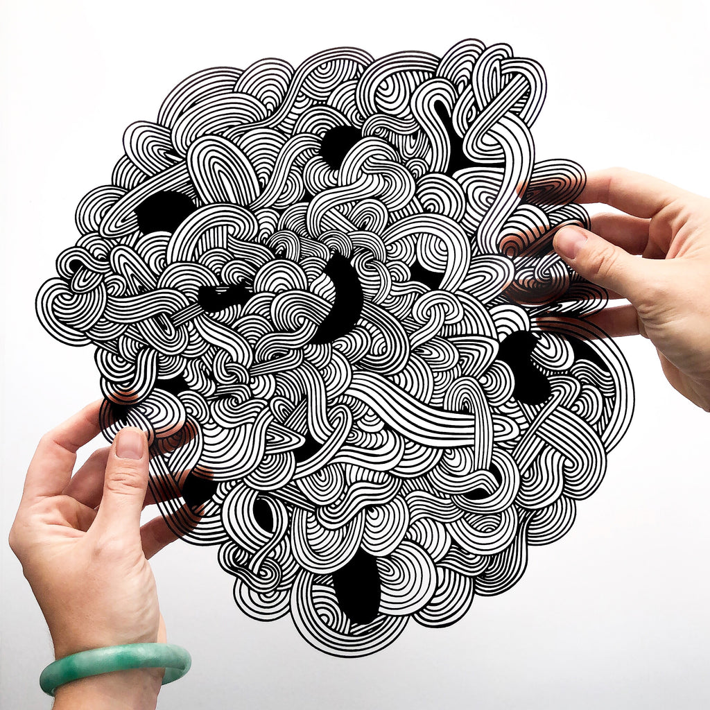 Abstract Papercutting