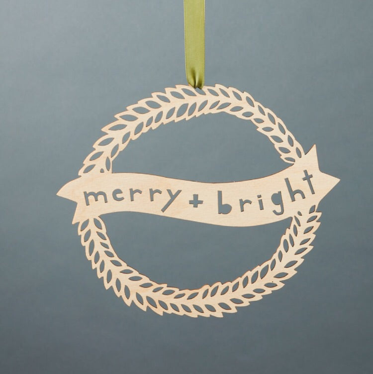 Merry + Bright Wreath