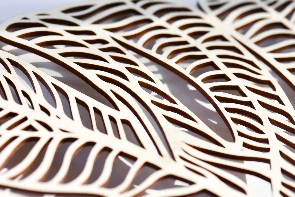 Monstera Lasercut Wooden Artwork