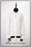 Nightmares Fantasy,cross embroidery Blouse