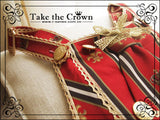 TAKE THE CROWN, straps JSK.