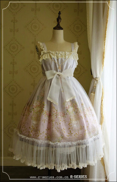 The Emperor's Nightingale, rococo, High-waist JSK