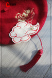 Cloud in Chinese style, brooch