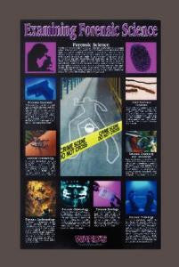 Examining Forensic Science Poster