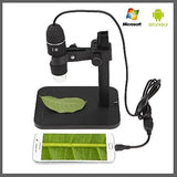 1000X 8 LED 2MP USB Digital Microscope Endoscope Magnifier Camera+Lift Stand