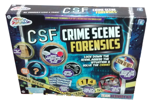 Crime Scene Forensics - Activity Set