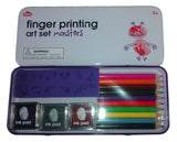 Finger Printing Art Set Monsters