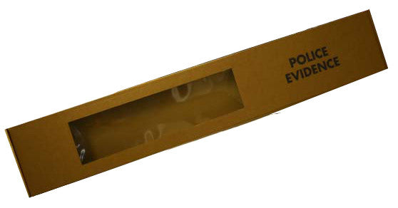 Evidence Window Box Large (Suitable for Rifle or long weapons/evidence)