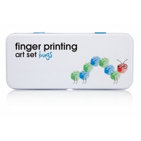 Finger Printing Art Set Bugs