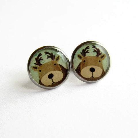 Cute Reindeer Earrings - Because of Annie