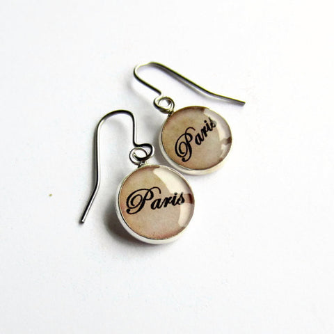 Paris Earrings - Because of Annie