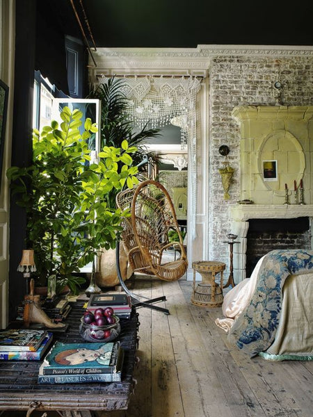 Indulge Your Interior Gardener Think Lush Tropical Palms Hanging Creepers Prehistoric Plants Not To Mention Pots Oh The