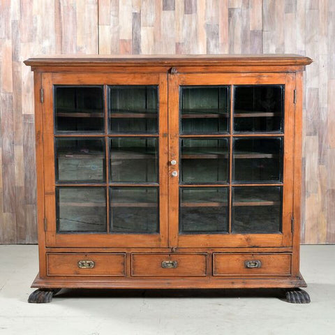 Anglo Indian Colonial Bookcase - Smith & Stocking  - 1