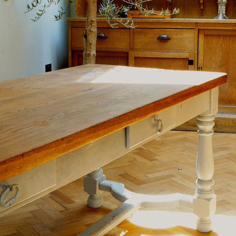 French Farmhouse Dining Table - Smith & Stocking  - 1