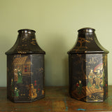 Chinoiserie Tea Canisters