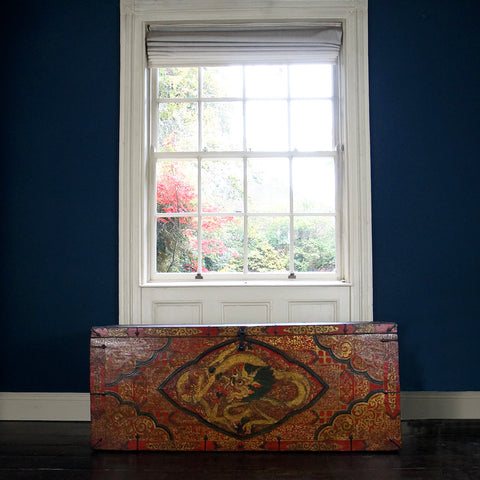Tibetan Painted Chest - Smith & Stocking  - 1