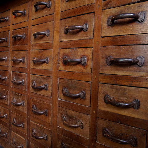 Apothecary's Drawer Cabinet - Smith & Stocking  - 1
