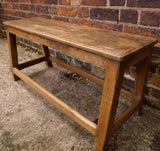 Small teak bench - Smith & Stocking  - 3
