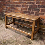 Small teak bench - Smith & Stocking  - 1