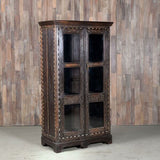 Bone Inlay Glass Cabinet - Smith & Stocking  - 3