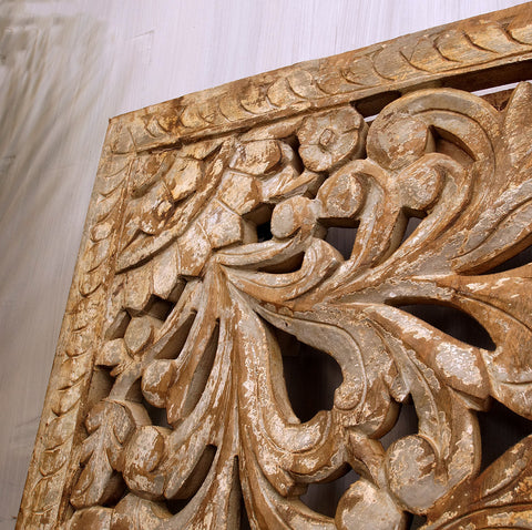 Large Carved Panel - Smith & Stocking  - 1