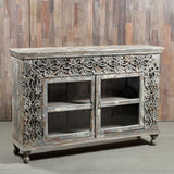Carved Cabinet - Smith & Stocking  - 2