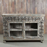 Carved Cabinet - Smith & Stocking  - 1