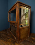 Mahogany Display Cabinet - Smith & Stocking  - 2