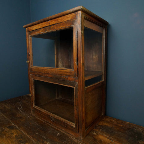 Mahogany Display Cabinet - Smith & Stocking  - 1