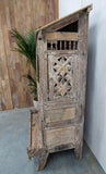 Carved Dowry Cabinet - Smith & Stocking  - 8