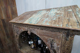 Carved Dowry Cabinet - Smith & Stocking  - 3