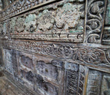 Carved Dowry Cabinet - Smith & Stocking  - 2