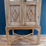 Antique Cabinet on Stand - Smith & Stocking  - 3